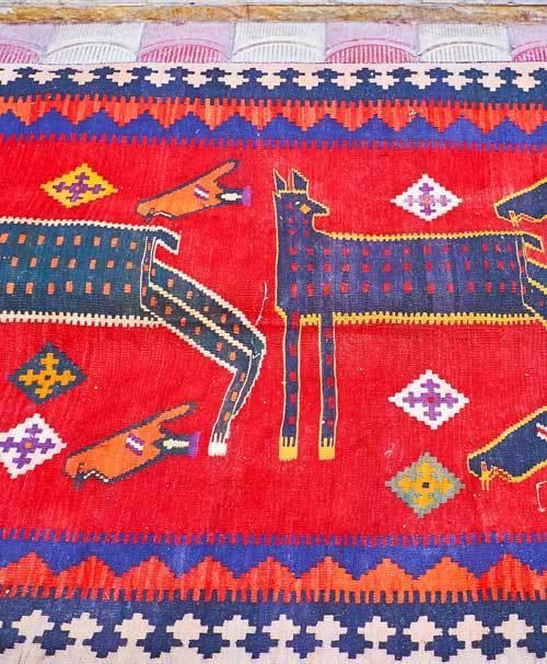 Nomadische tapijten