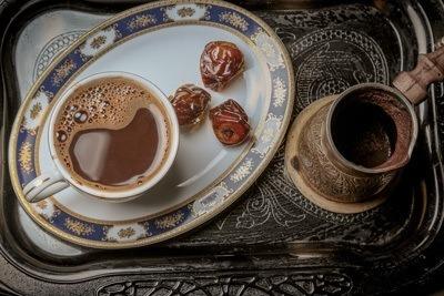Arabische koffie in De Souk